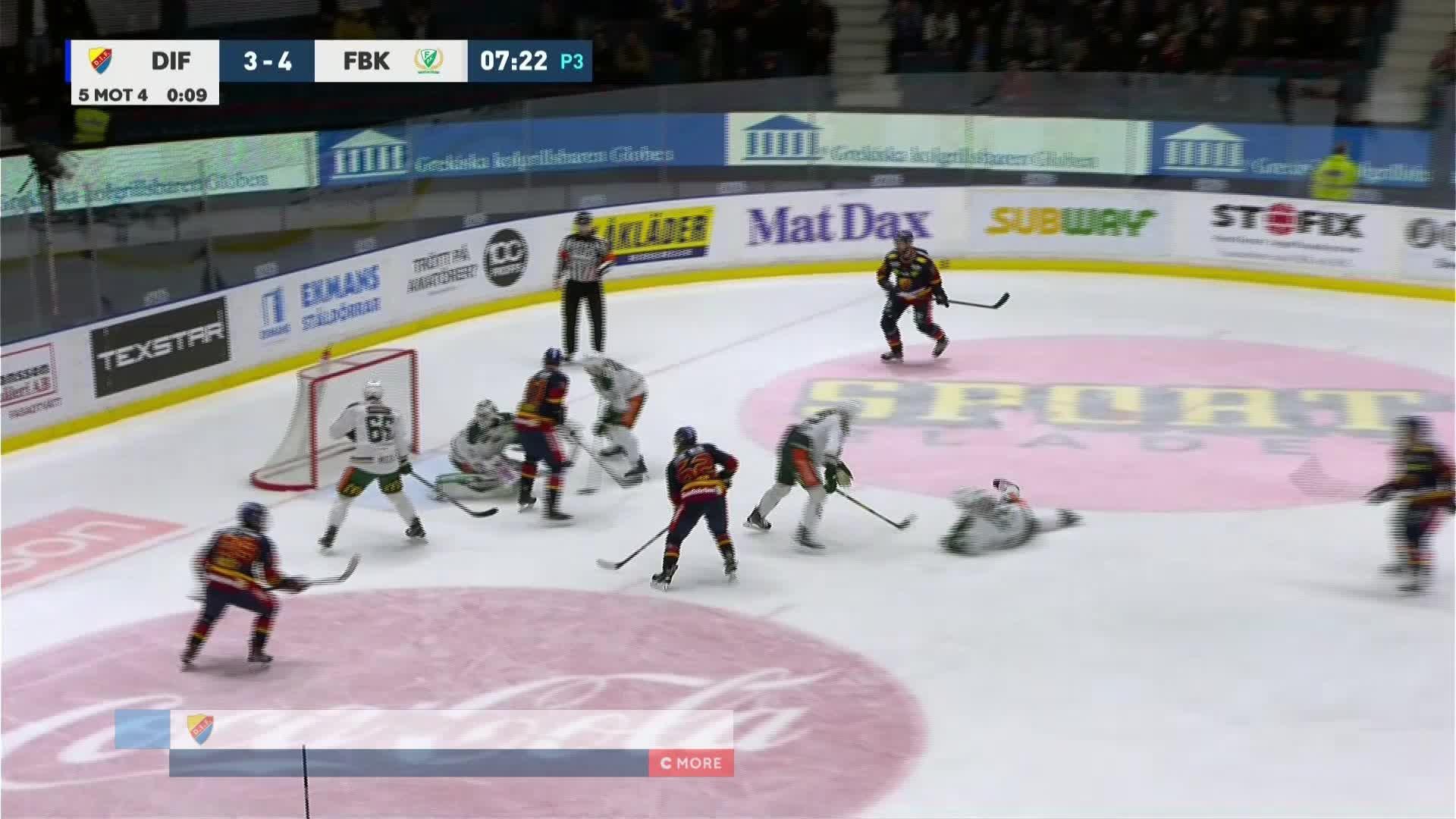 Djurgården Hockey - Färjestad BK 4-4