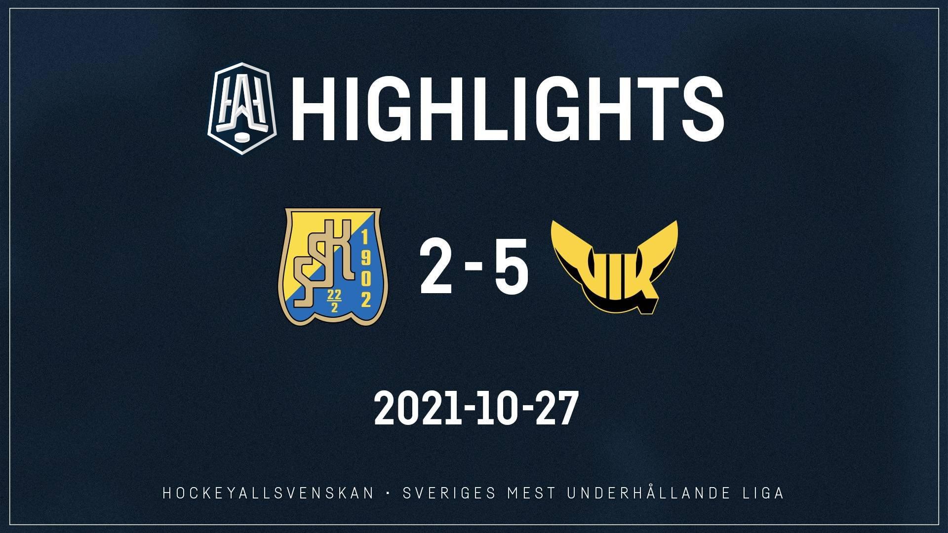 2021-10-27 Södertälje - Västerås 2-5