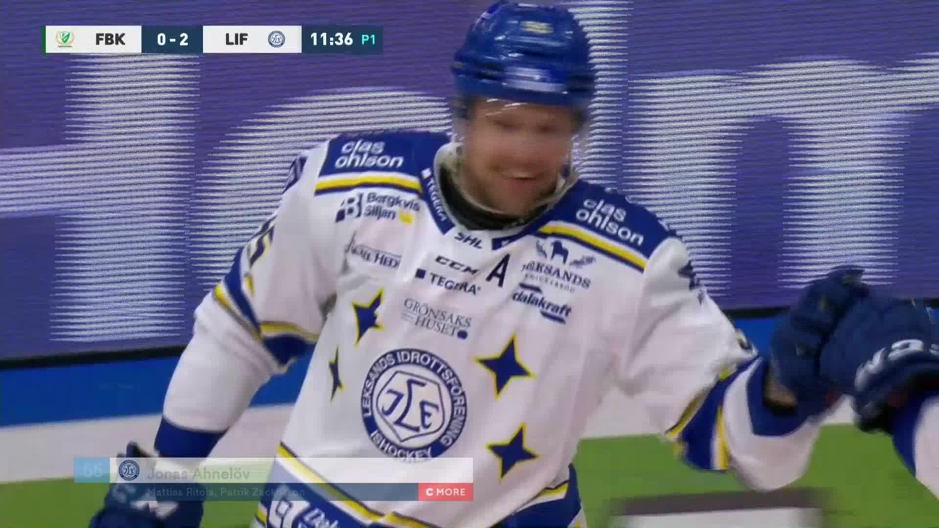 Färjestad BK - Leksands IF 0-2