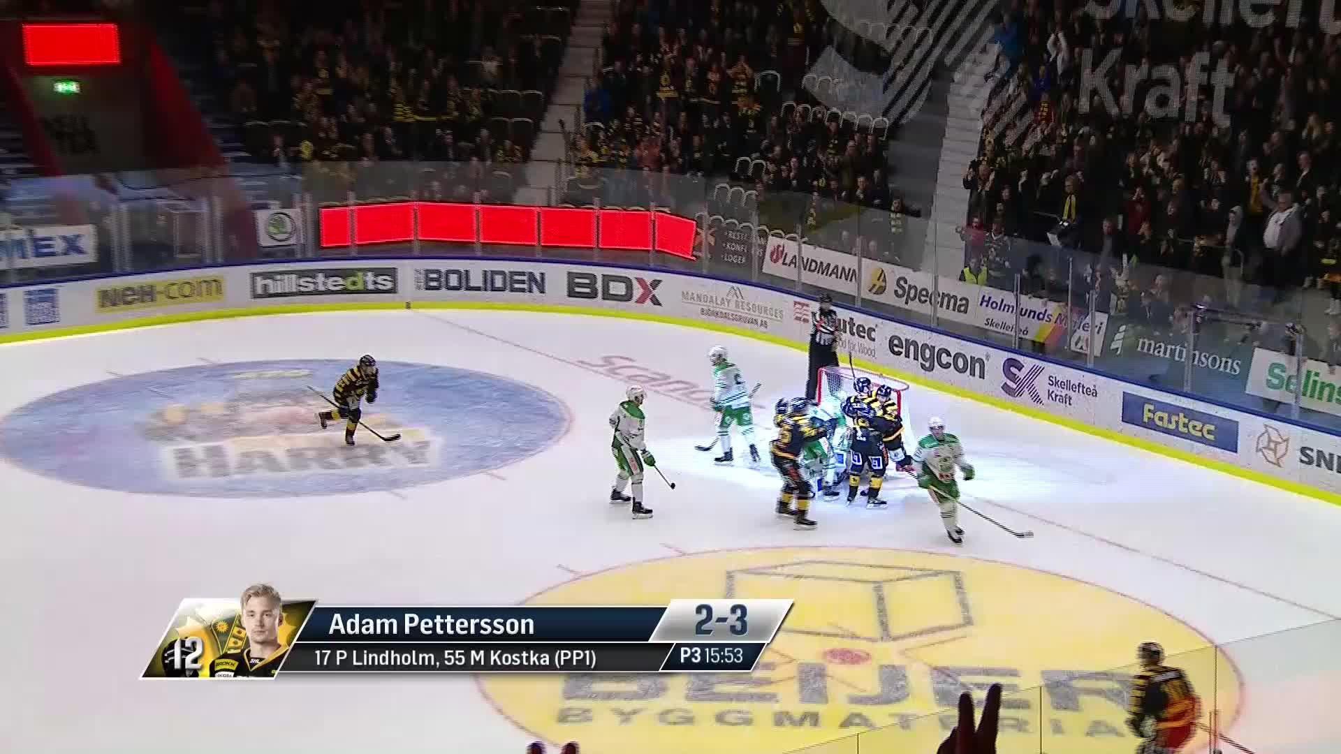 Skellefteå AIK - Rögle BK 2-3