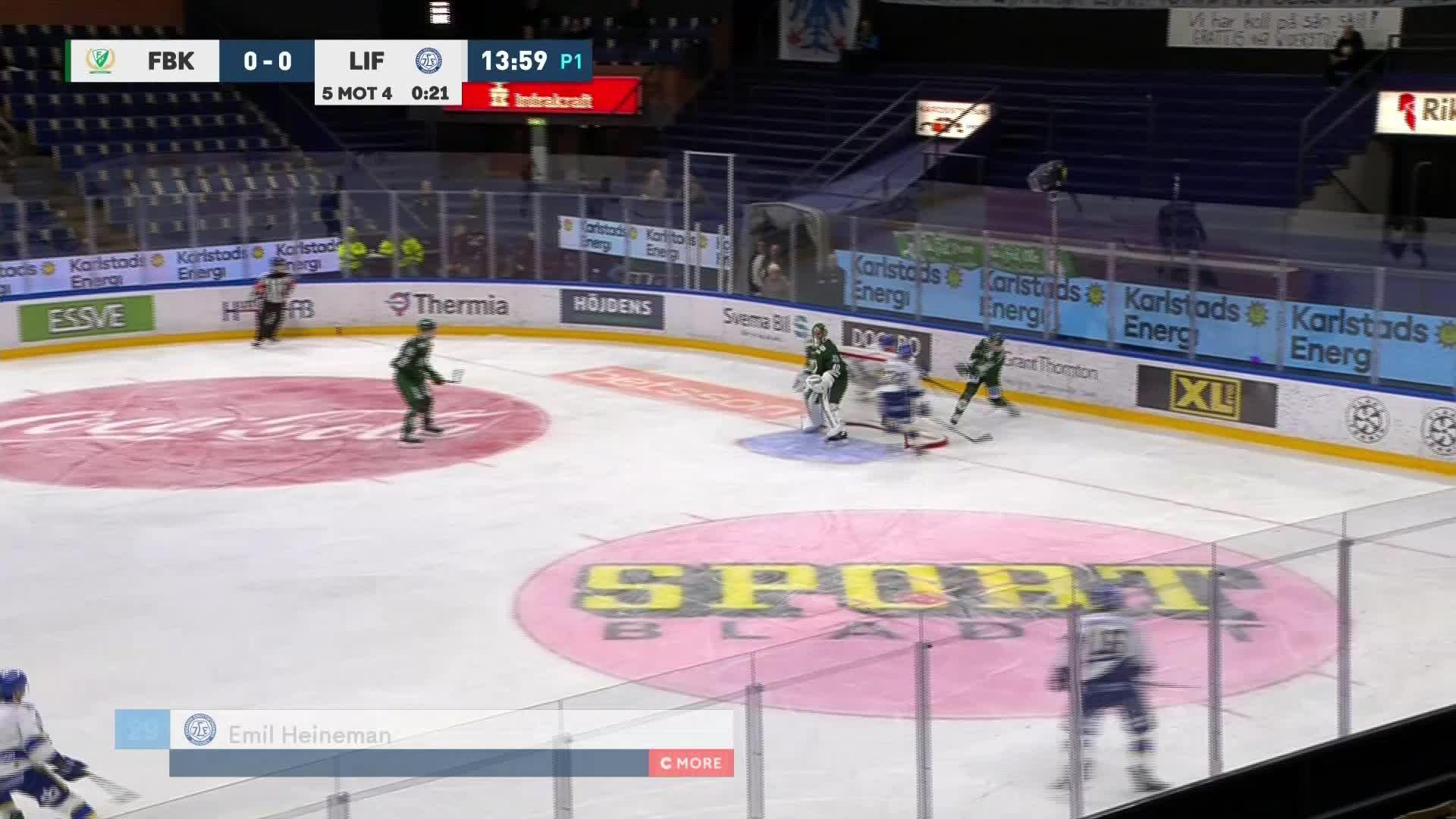 Färjestad BK - Leksands IF 0-1