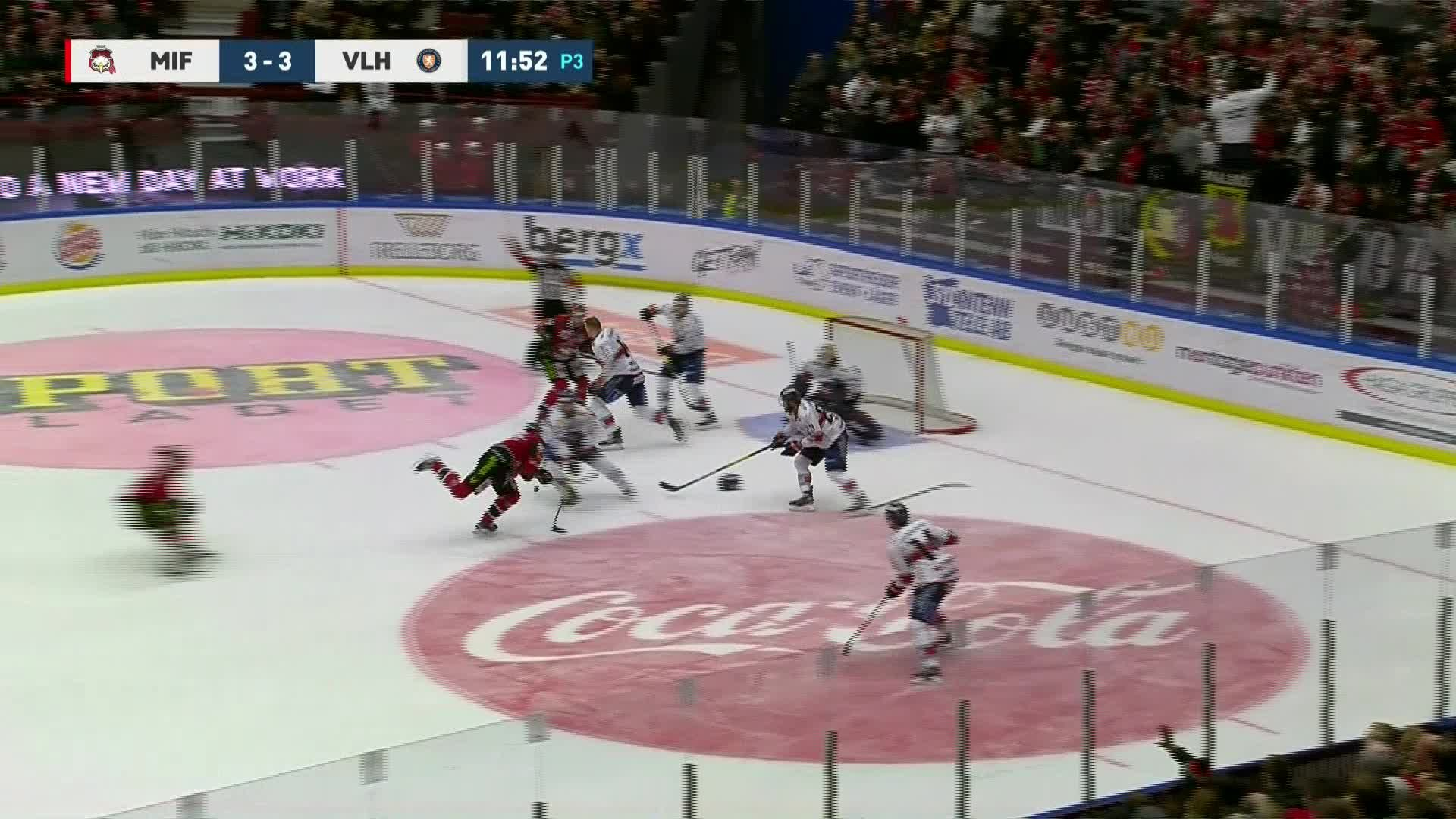 Malmö Redhawks - Växjö Lakers 4-3