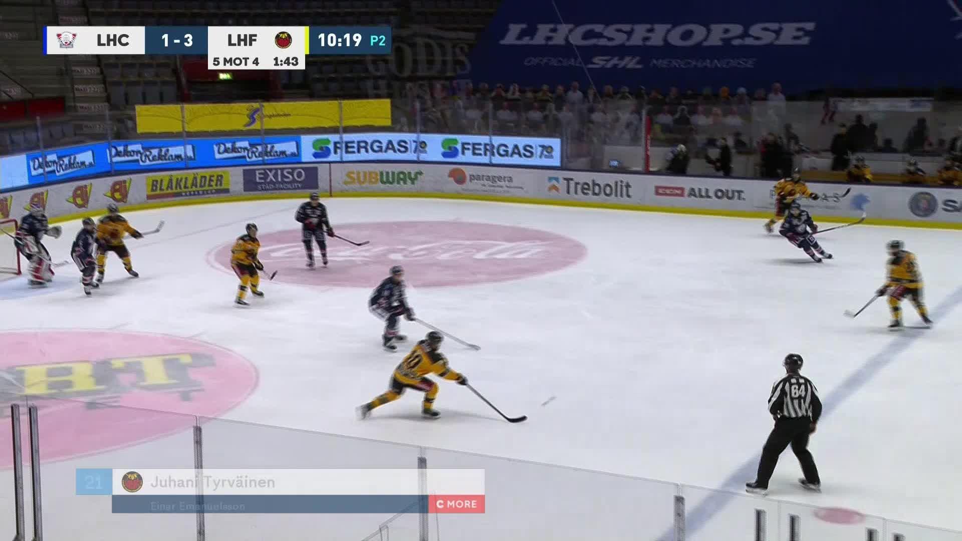 Linköping HC - Luleå Hockey 1-4