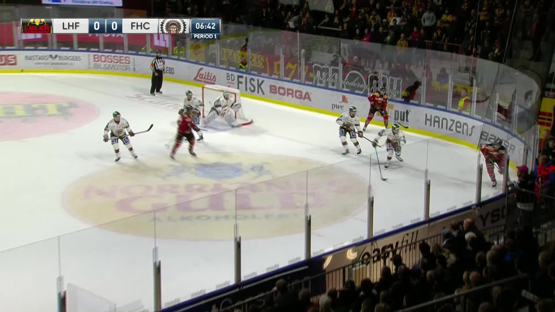 Luleå Hockey - Frölunda HC 1-0