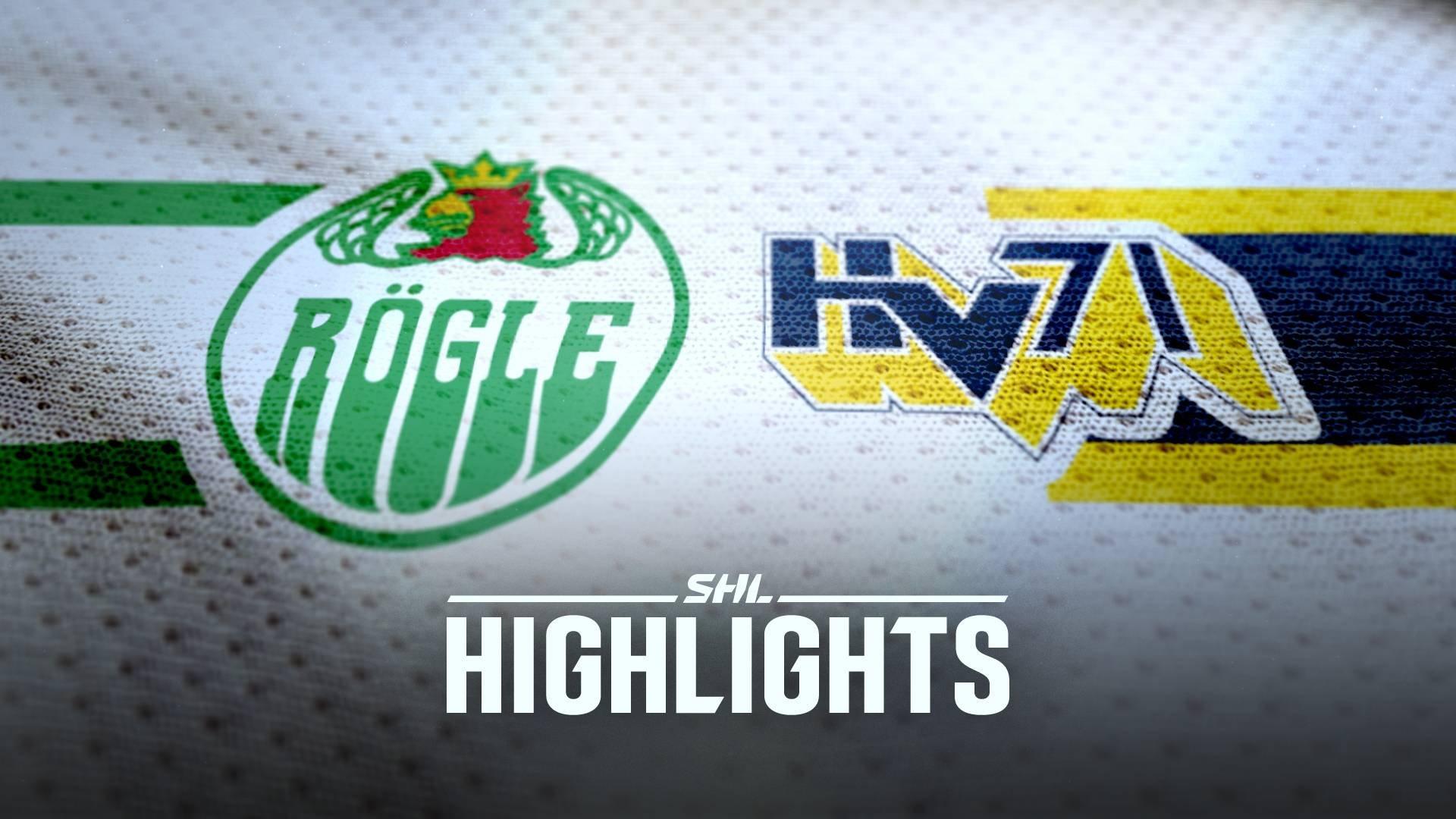 Rögle BK - HV71