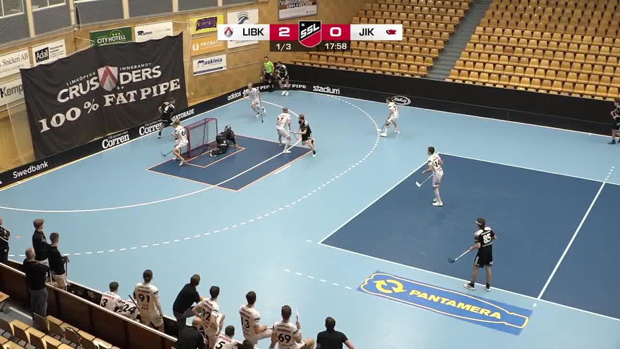 Highlights: Linköping Innebandy - Jönköpings IK