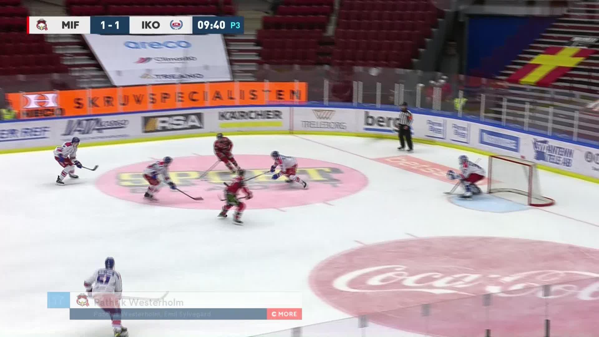 Malmö Redhawks - IK Oskarshamn 2-1