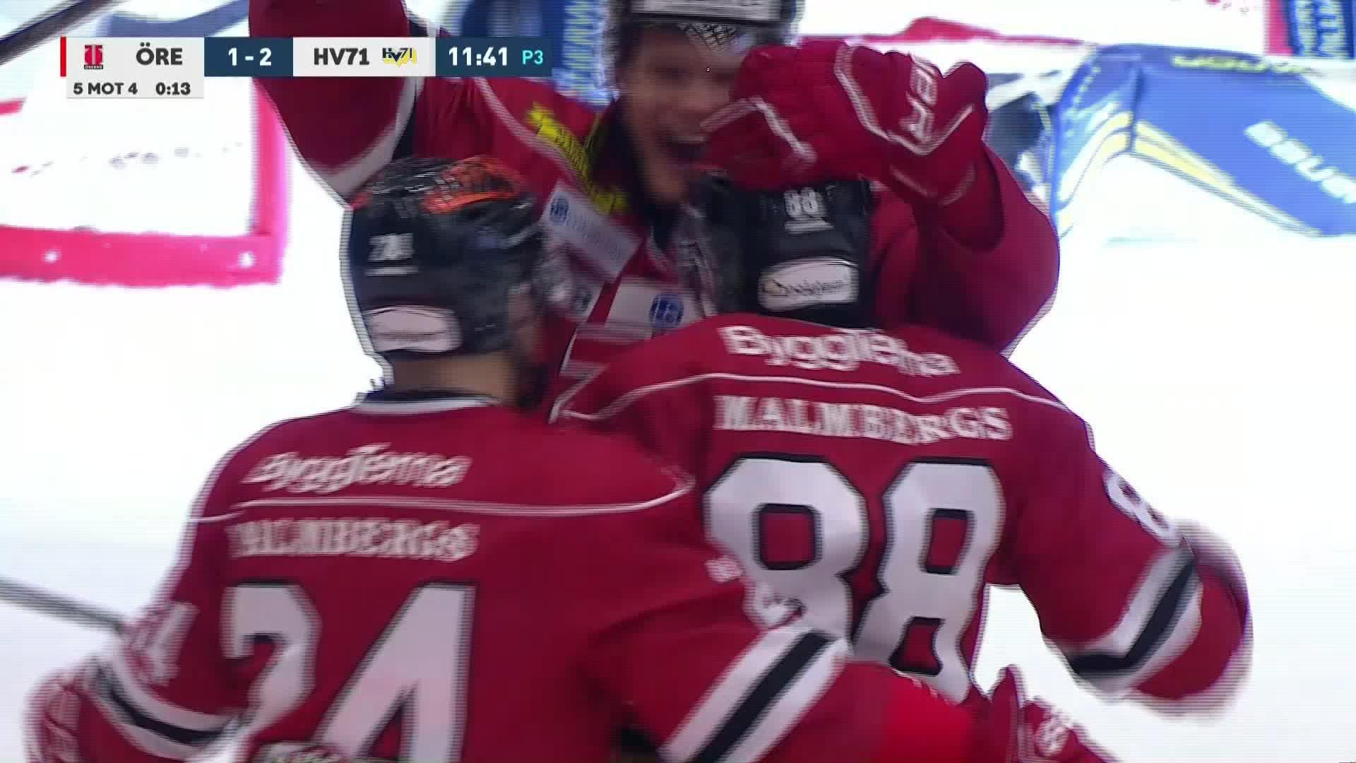 Örebro Hockey - HV71 1-2