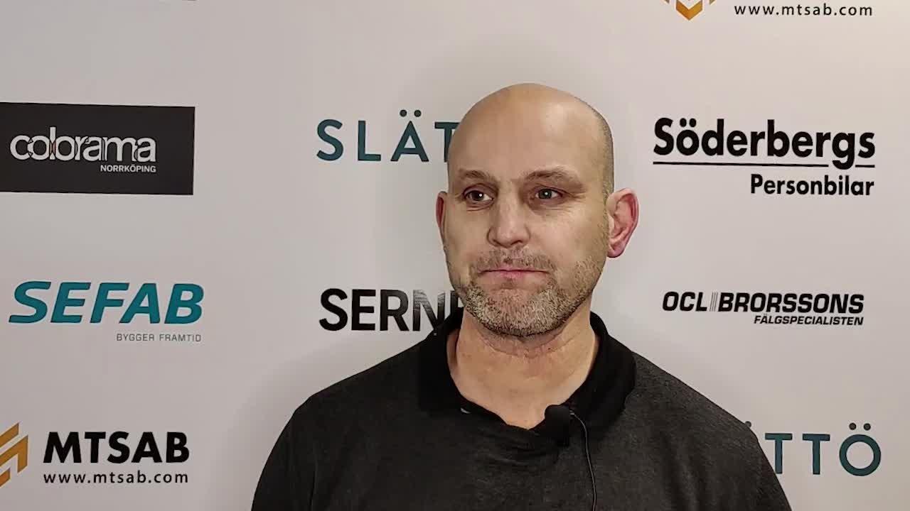 Tony Zabel om förlusten mot Björklöven