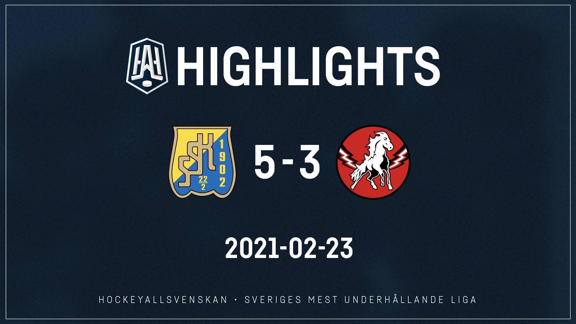 2021-02-23 Södertälje - Vita Hästen 5-3