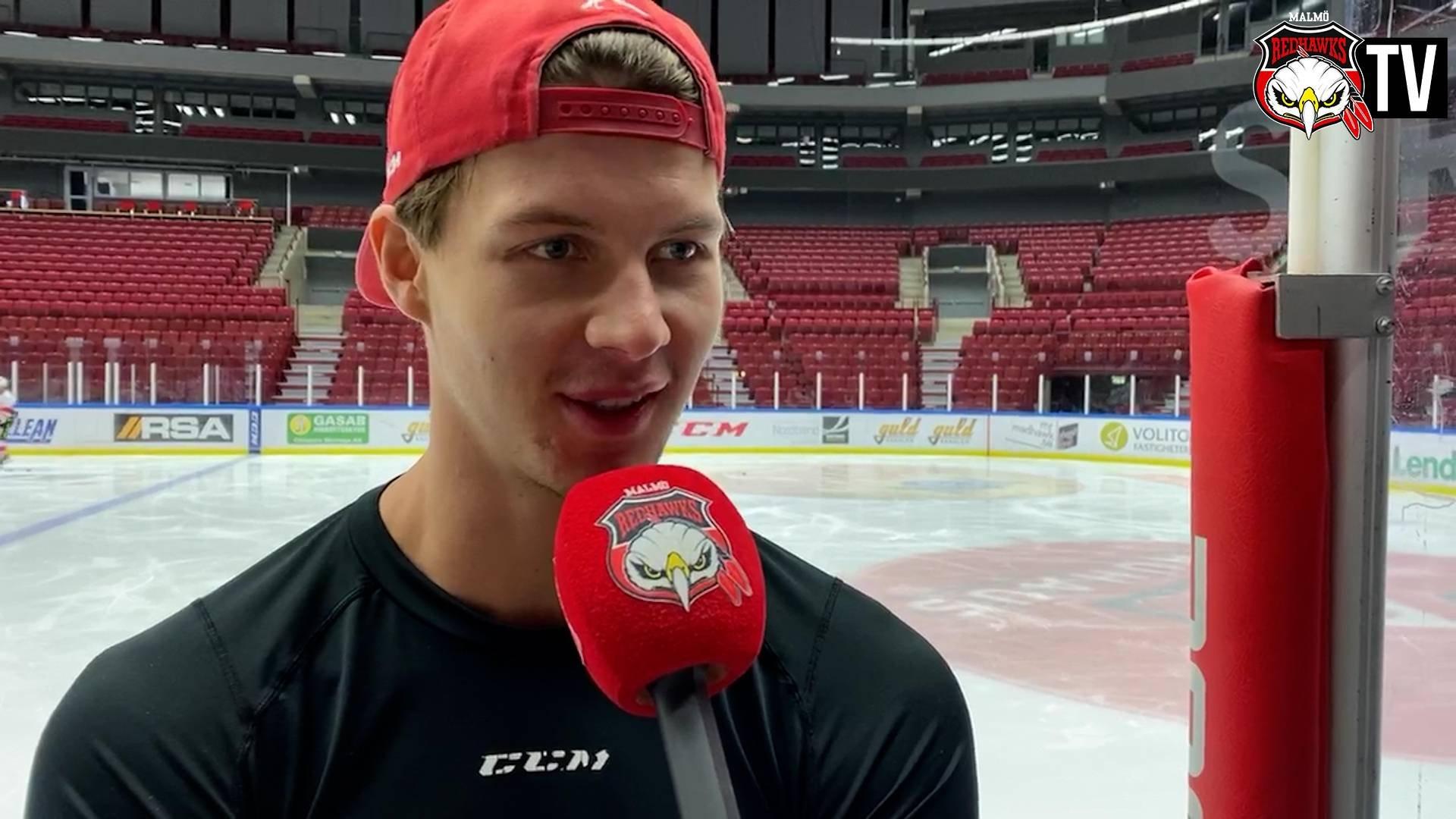 TV: Ollas Mattsson inför bortamötet med HV71