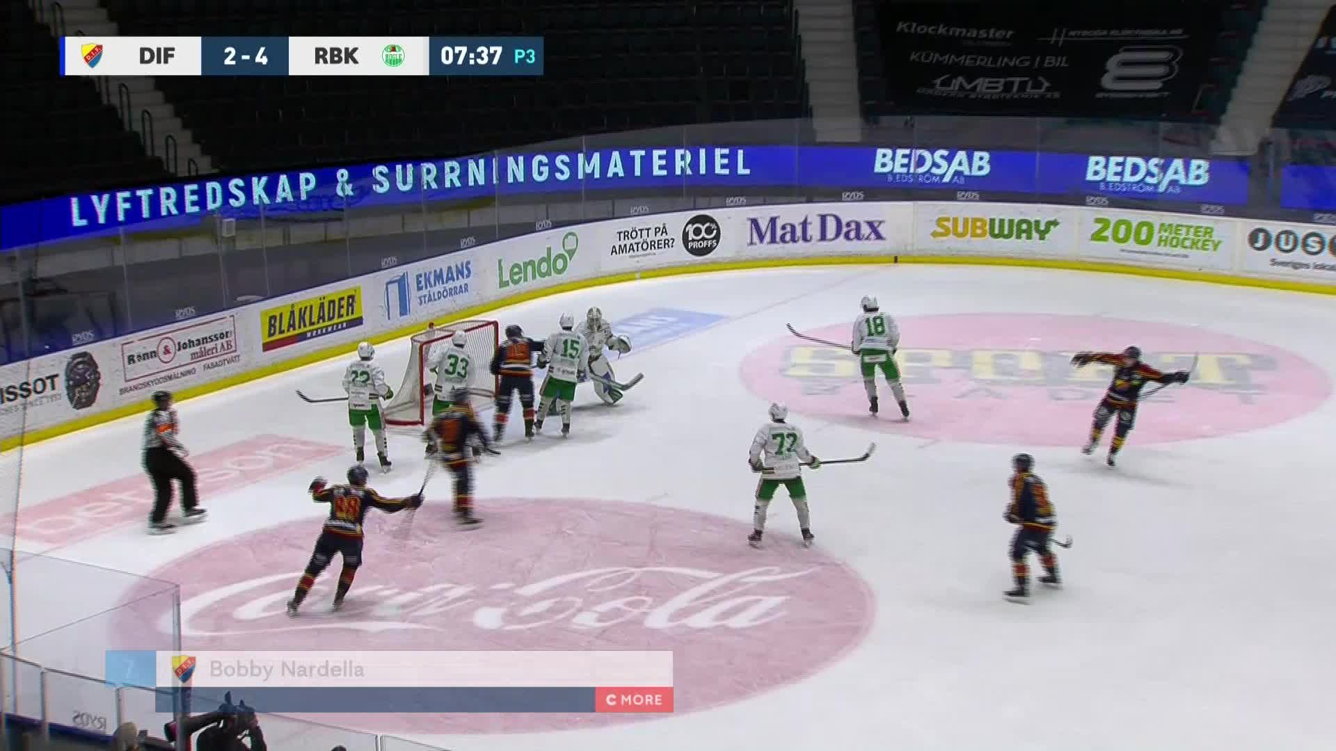 Djurgården Hockey - Rögle BK 3-4