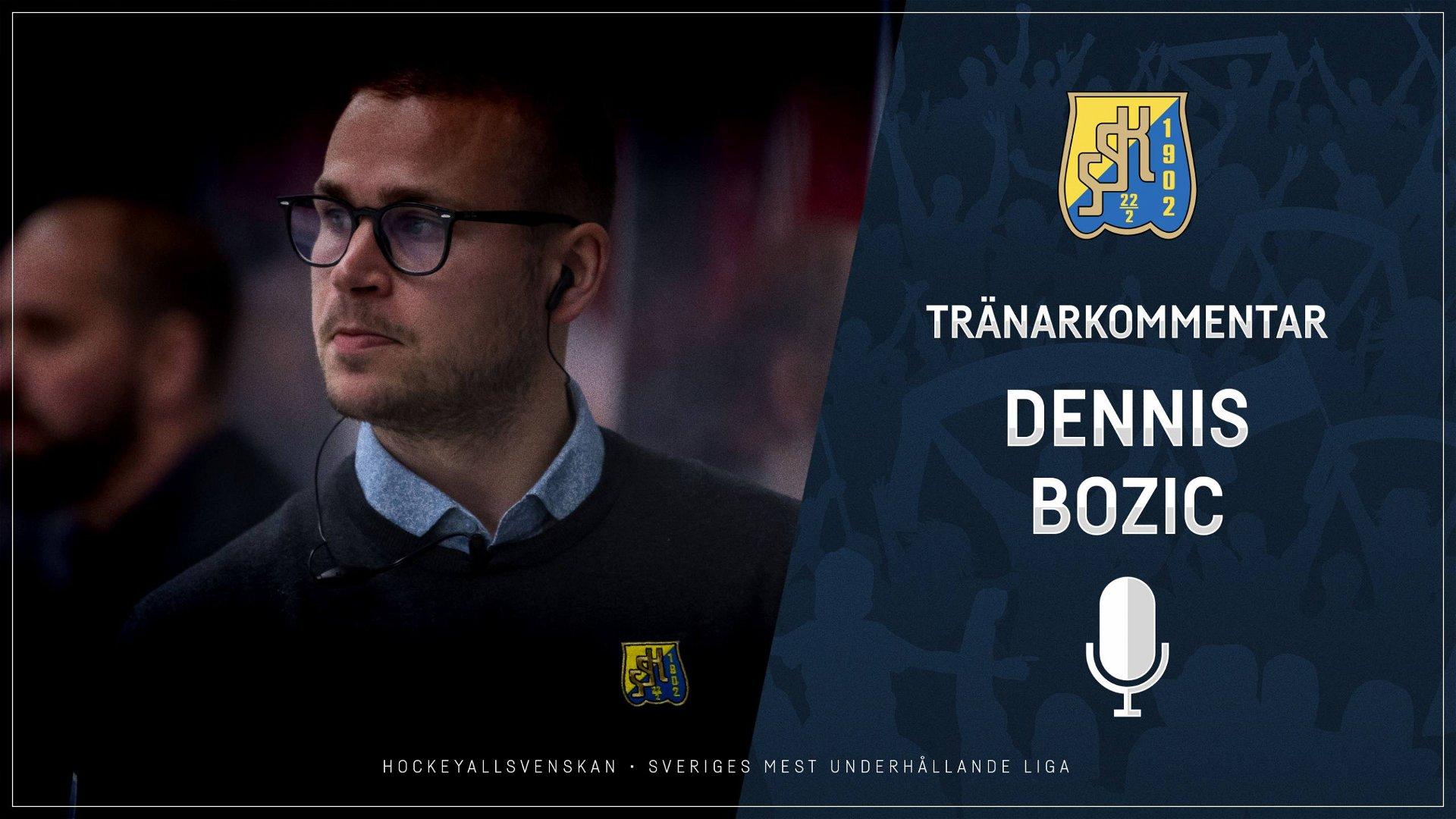 2021-02-10 Segerintervju: Dennis Bozic