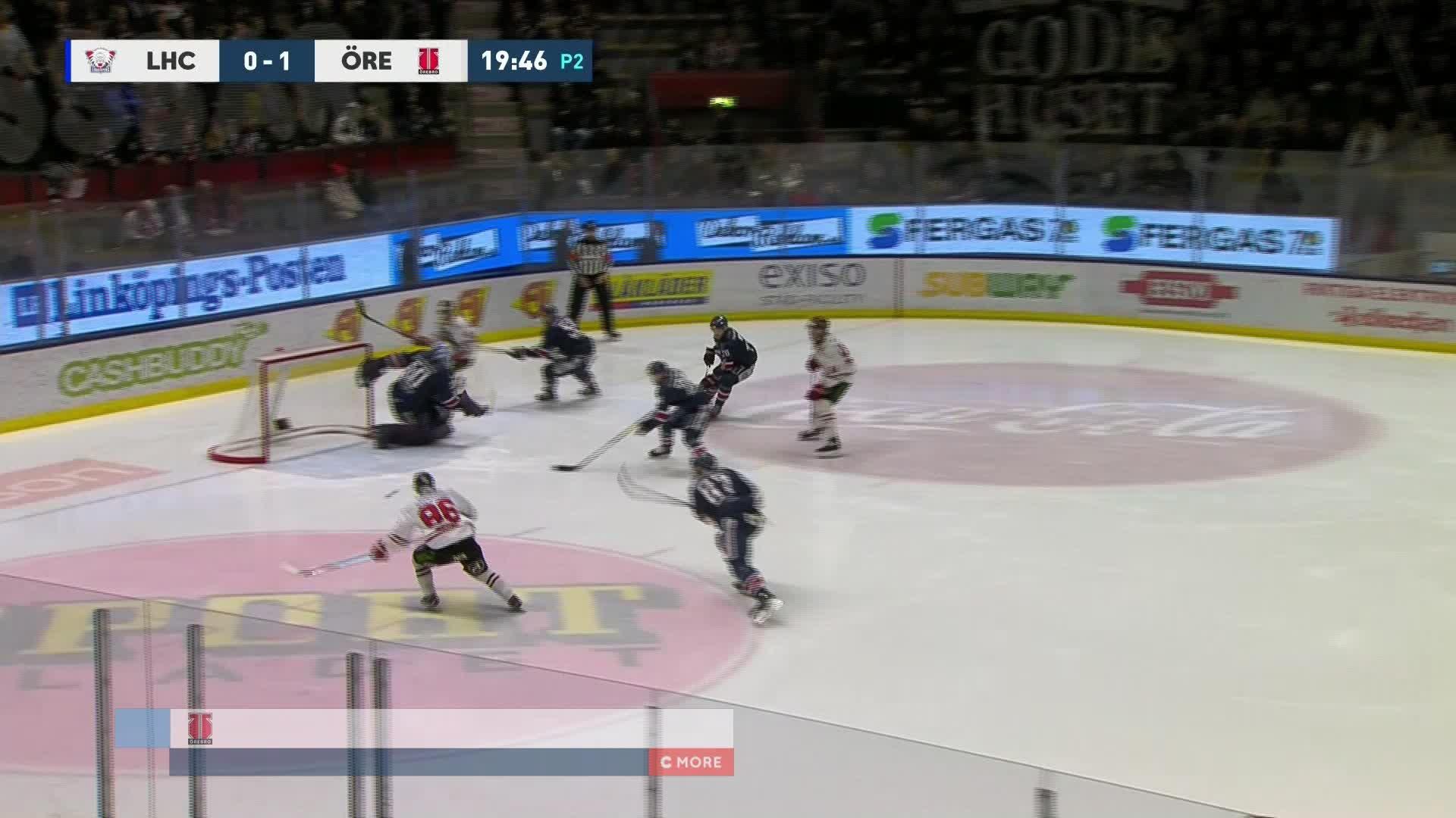 Linköping HC - Örebro Hockey 0-2
