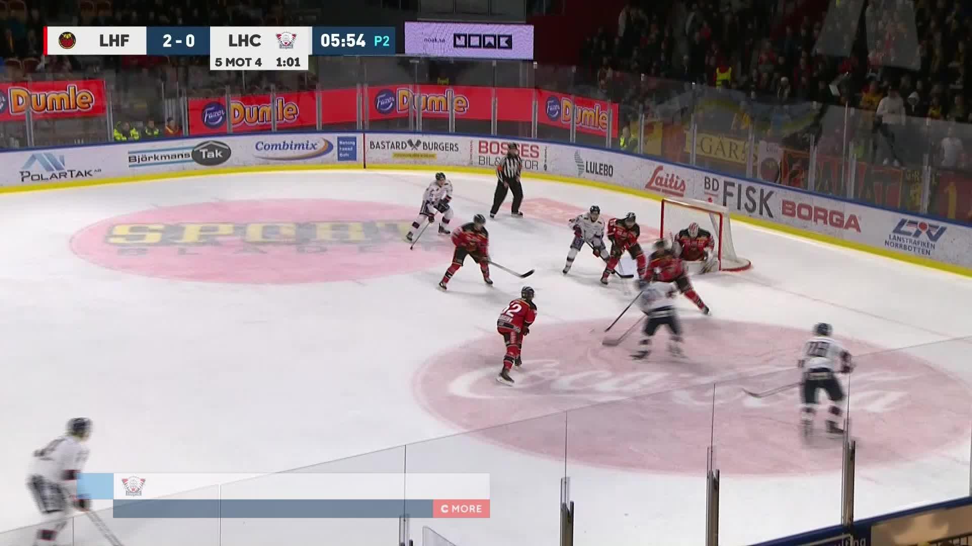 Luleå Hockey - Linköping HC 2-1