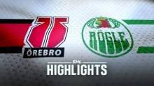 Örebro Hockey - Rögle BK