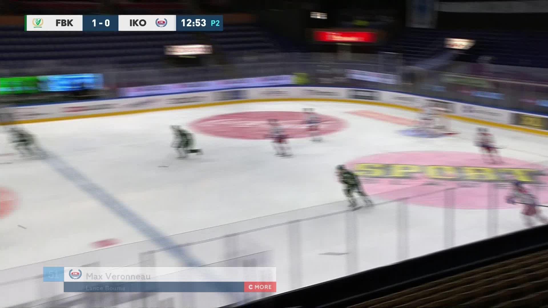 Färjestad BK - IK Oskarshamn 1-1