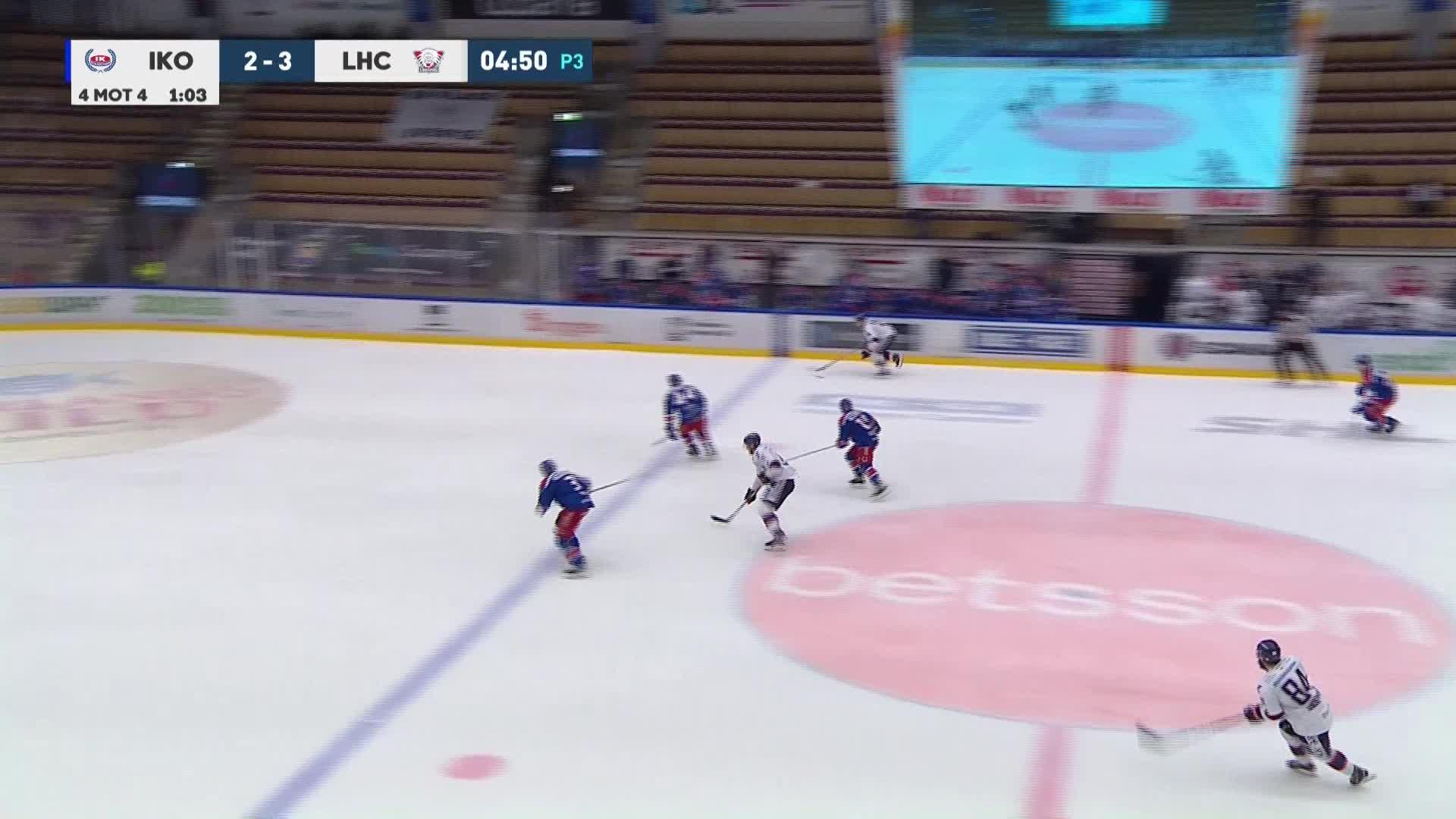 IK Oskarshamn - Linköping HC 2-4