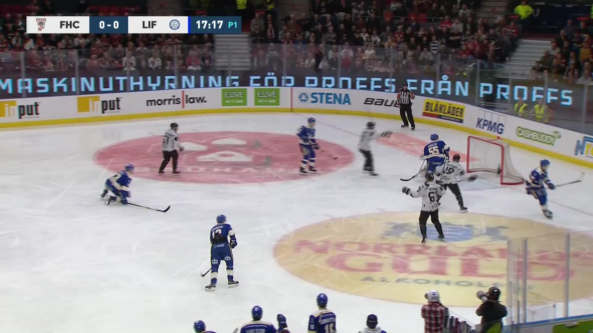 Frölunda HC - Leksands IF 1-0