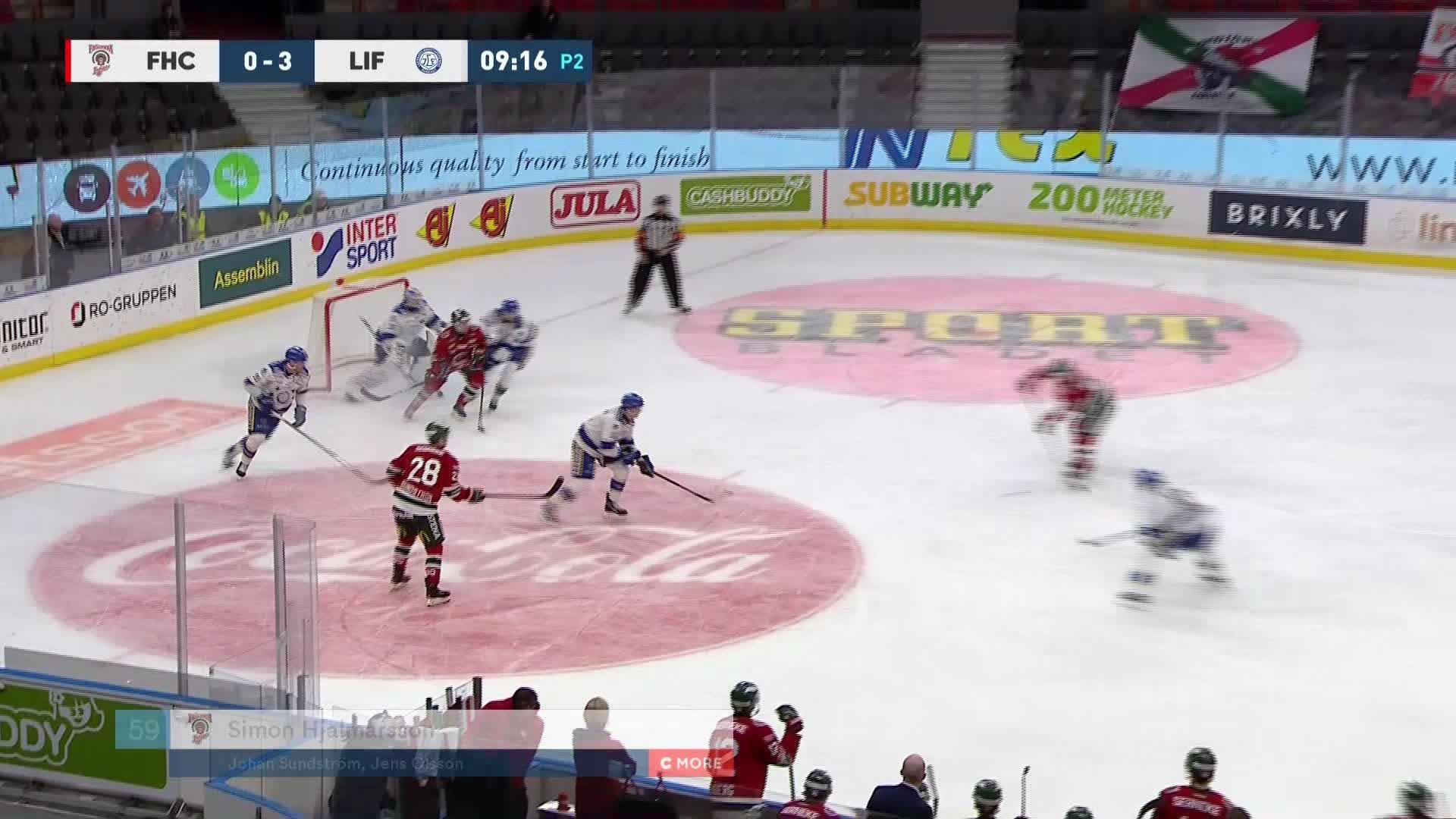 Frölunda HC - Leksands IF 1-3
