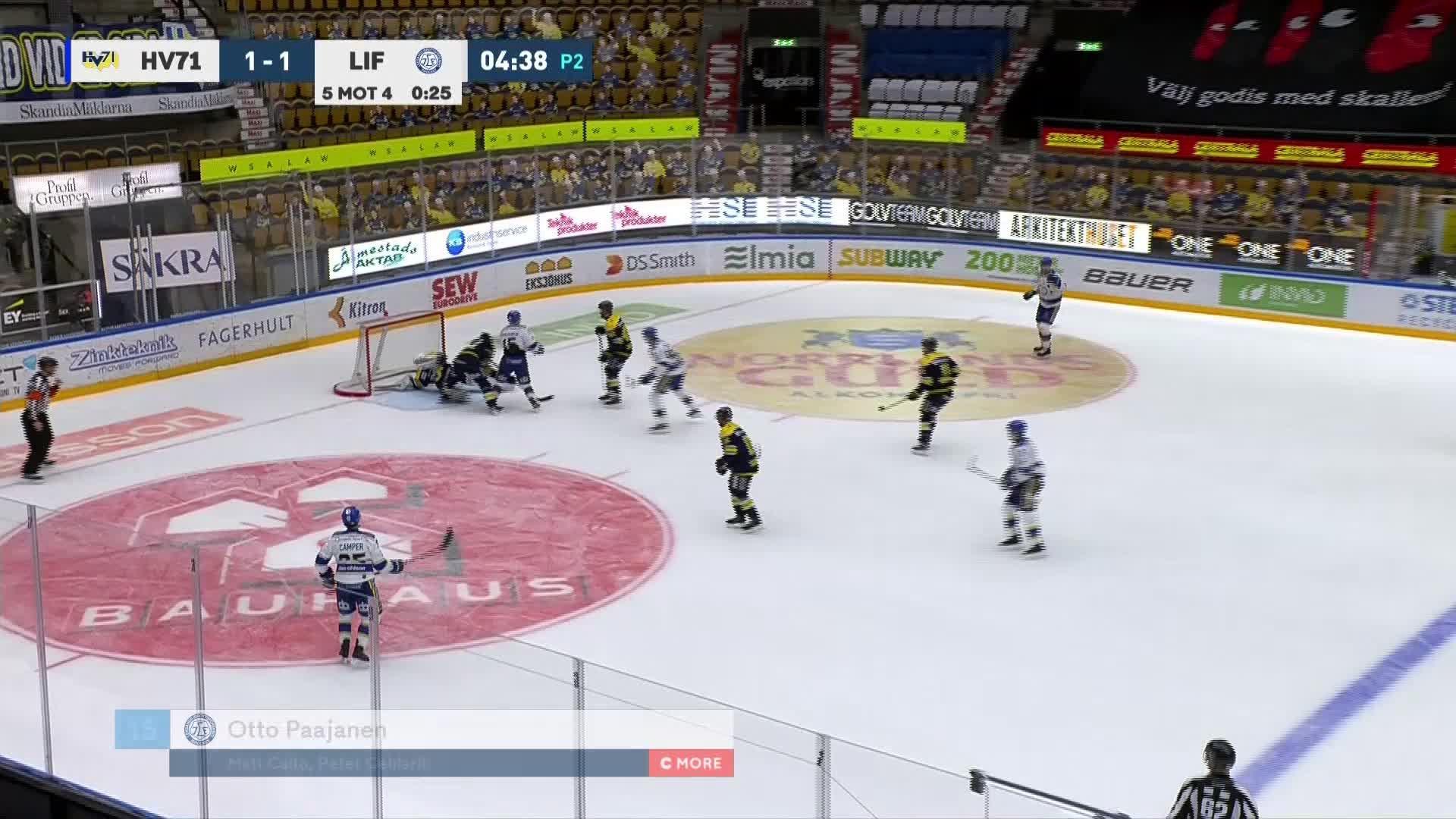 HV71 - Leksands IF 1-2
