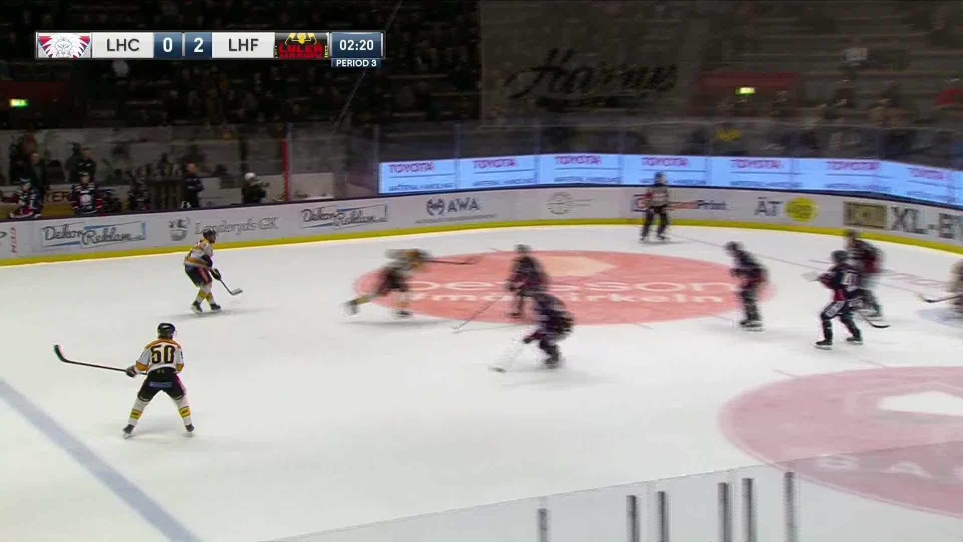 Linköping HC - Luleå Hockey 0-3