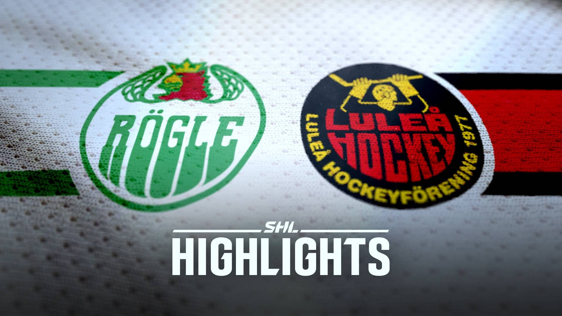 Rögle BK - Luleå Hockey