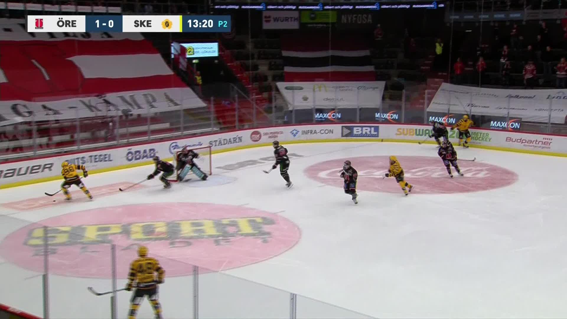 Örebro Hockey - Skellefteå AIK 1-1