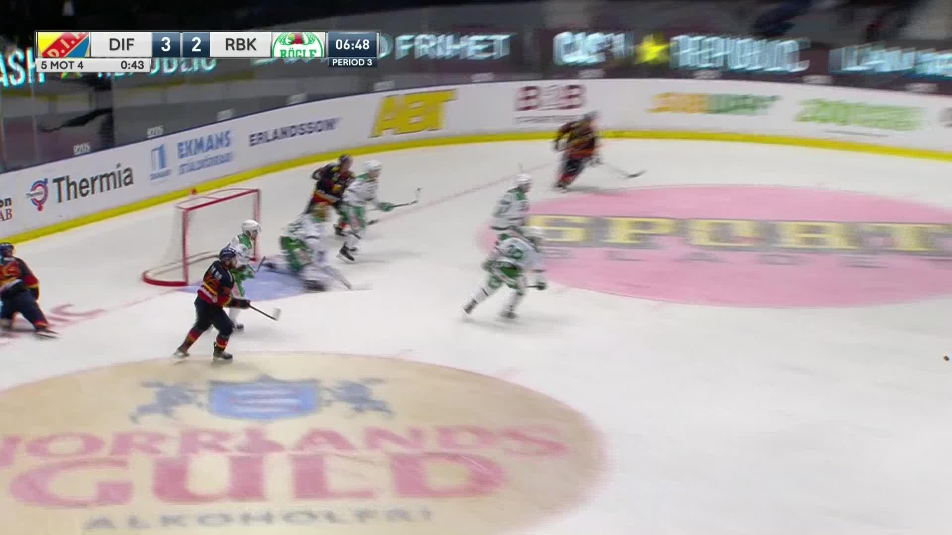 Djurgården Hockey - Rögle BK 4-2