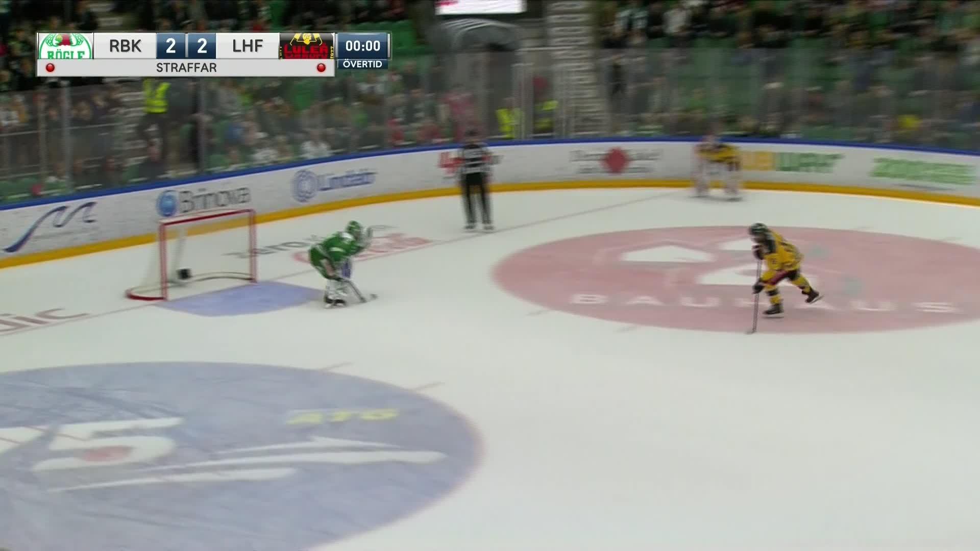 Rögle BK - Luleå Hockey 2-3