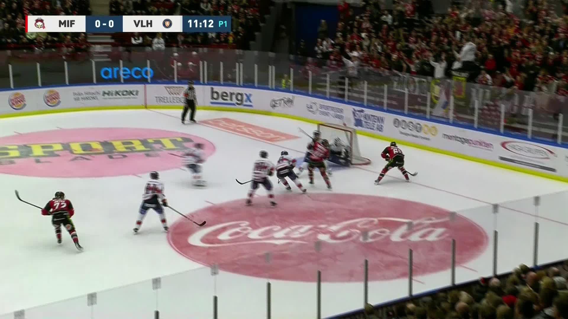Malmö Redhawks - Växjö Lakers 1-0