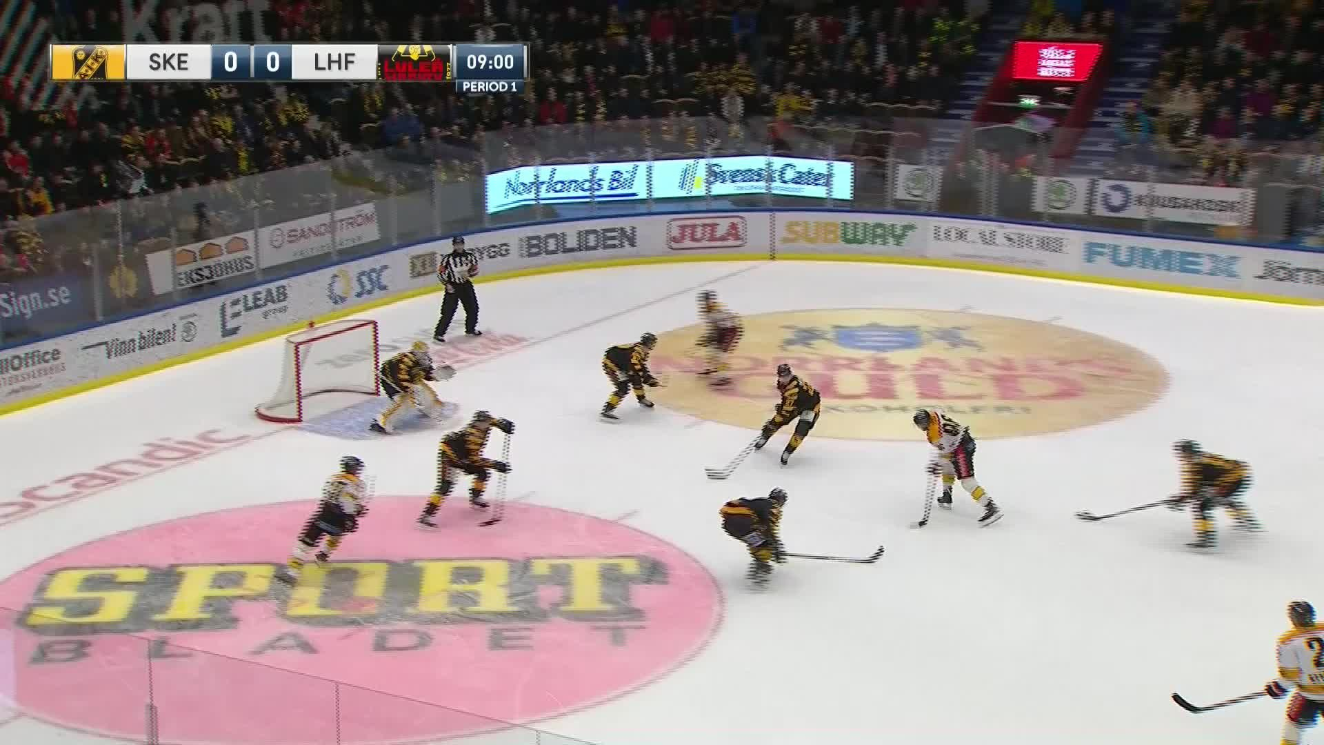 Skellefteå AIK - Luleå Hockey 0-1