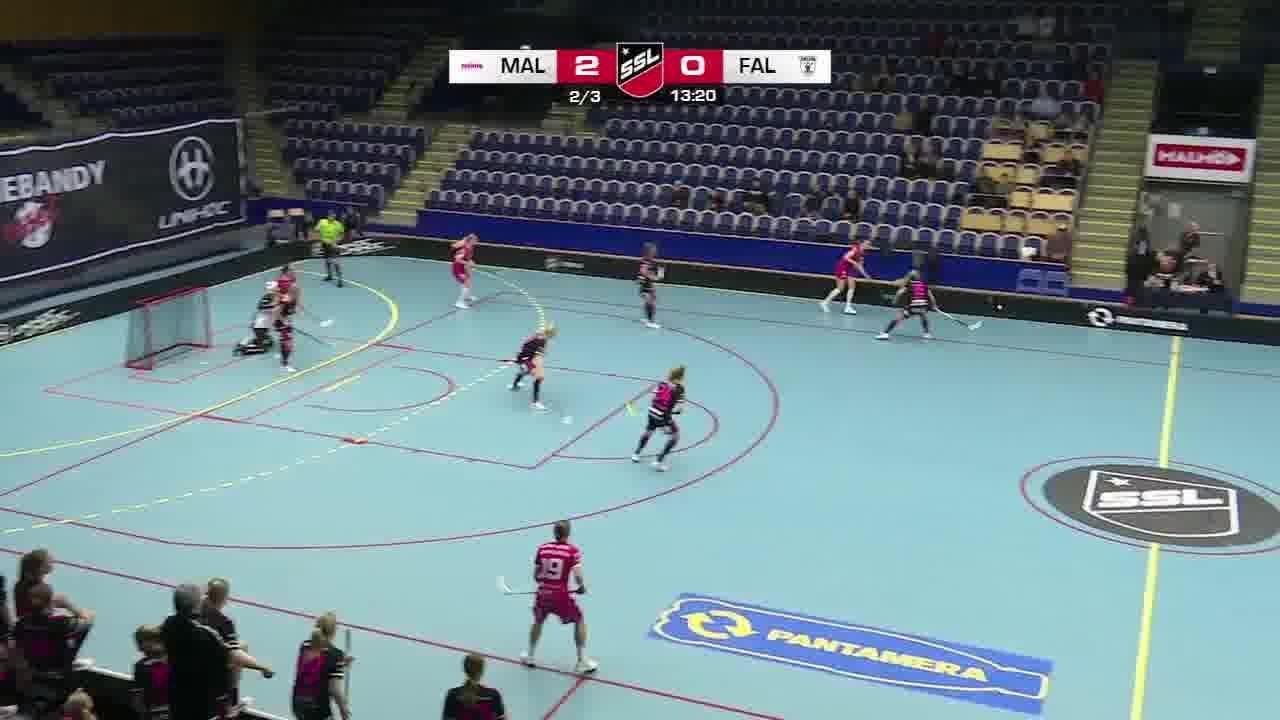 Highlights: Malmö FBC-IBF Falun