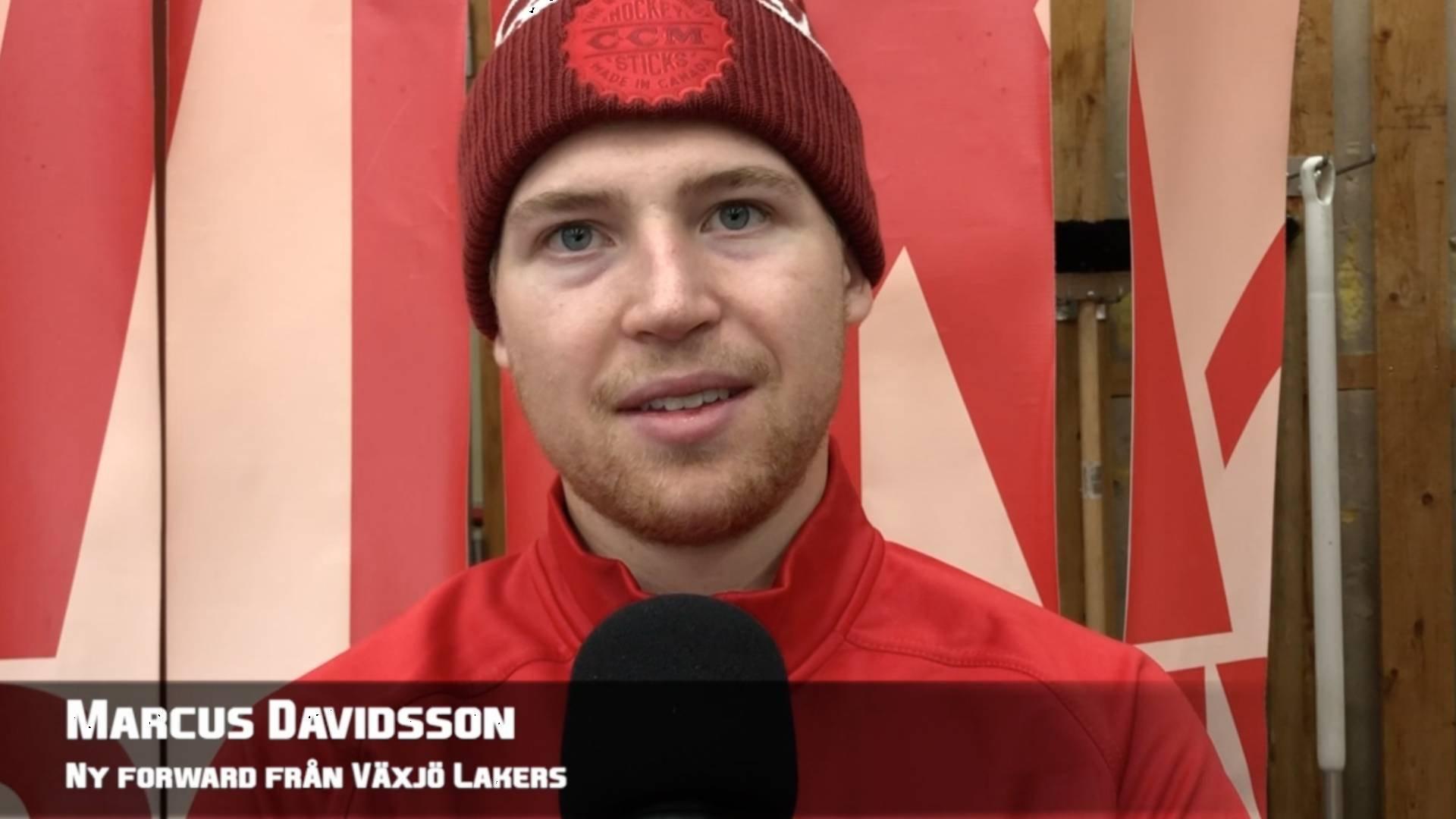 Intervju med Marcus Davidsson