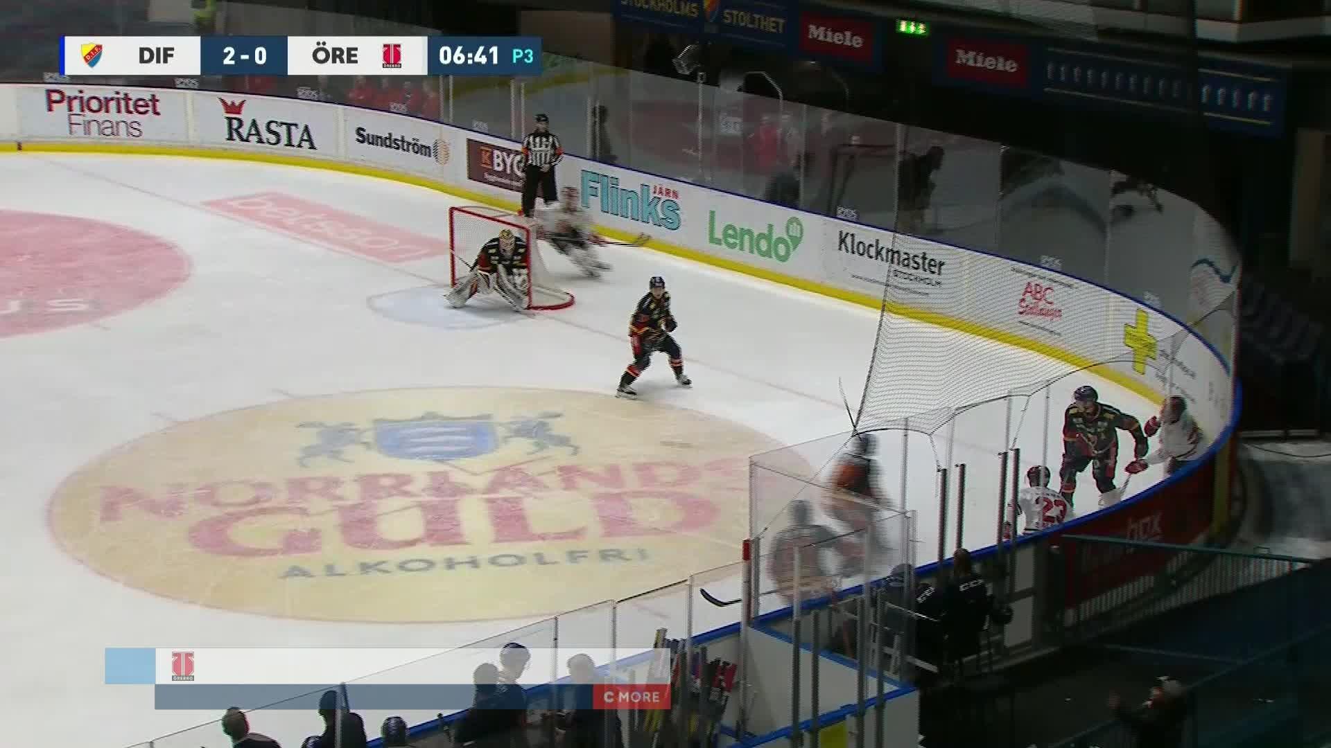 Djurgården Hockey - Örebro Hockey 2-1