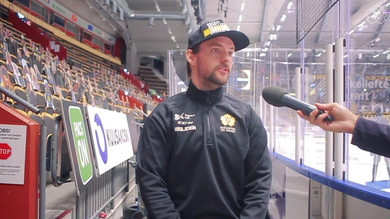 """Lindvall inför SKE - VLH: """"Disciplin med puck"""""""