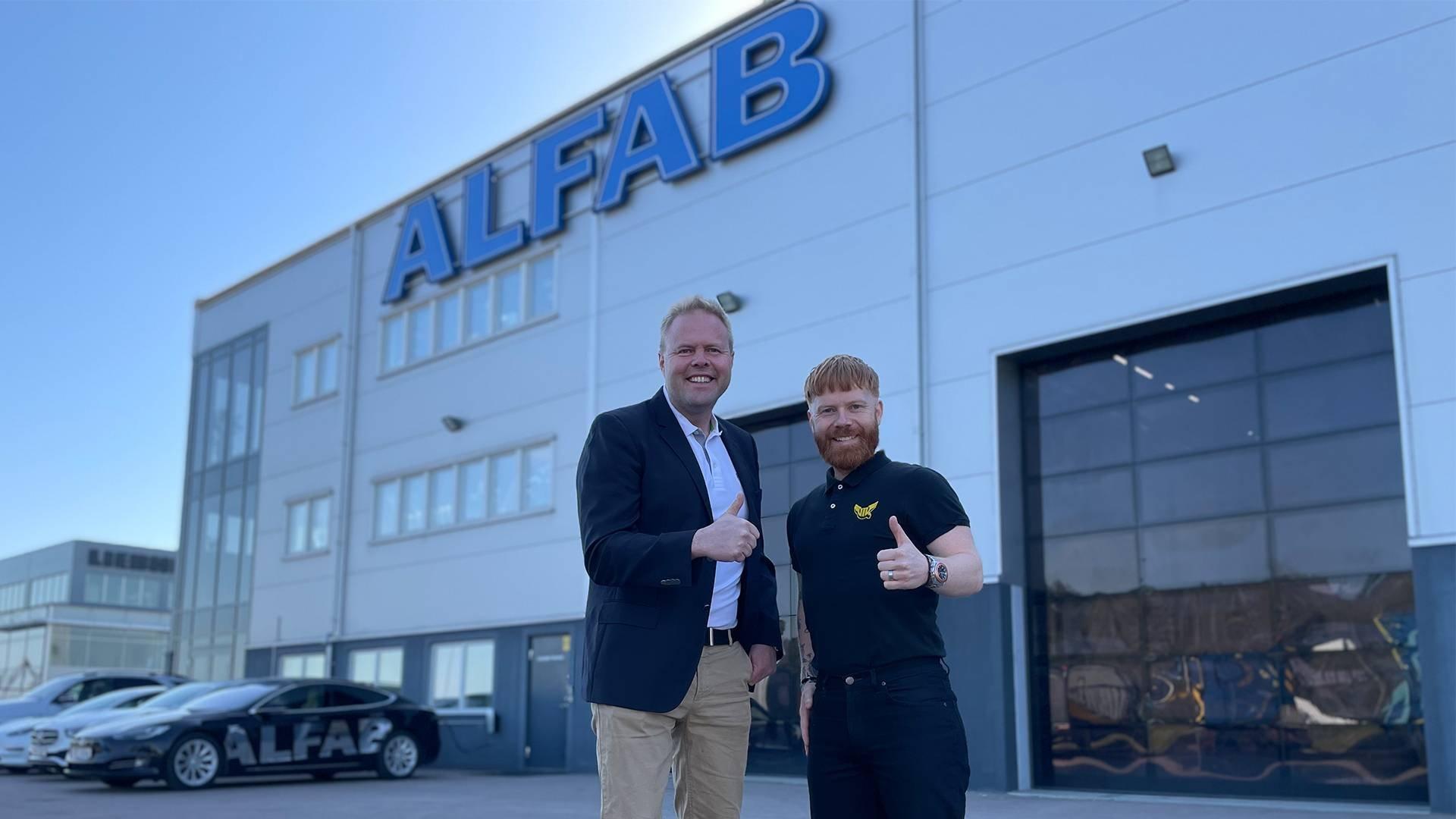 ALFAB blir ny Diamantpartner