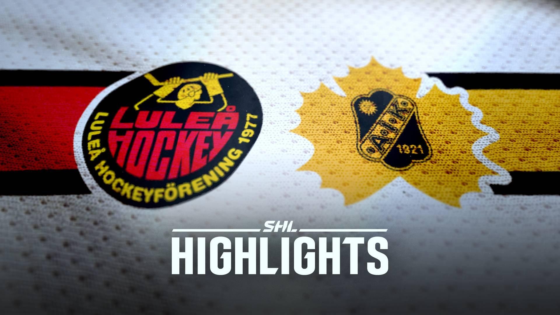 Luleå Hockey - Skellefteå AIK