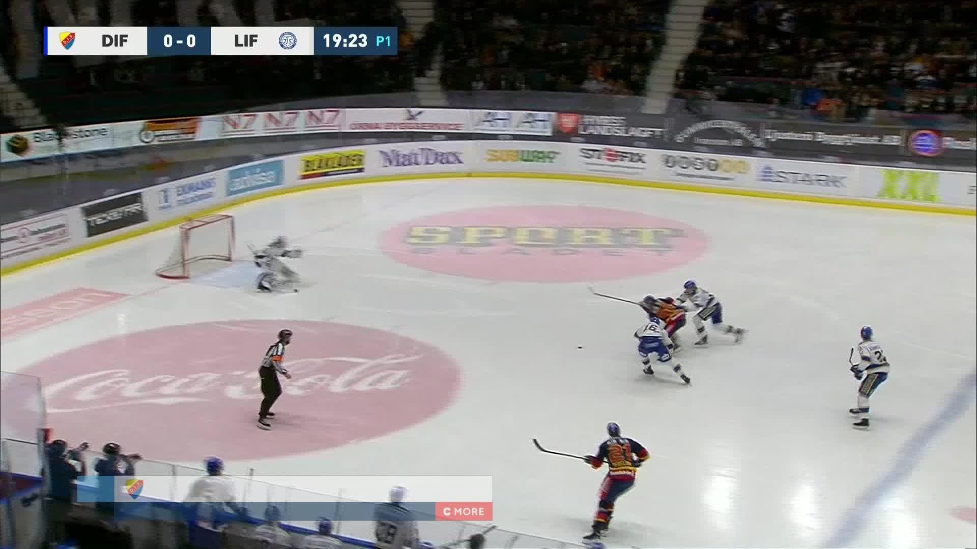 Djurgården Hockey - Leksands IF 1-0