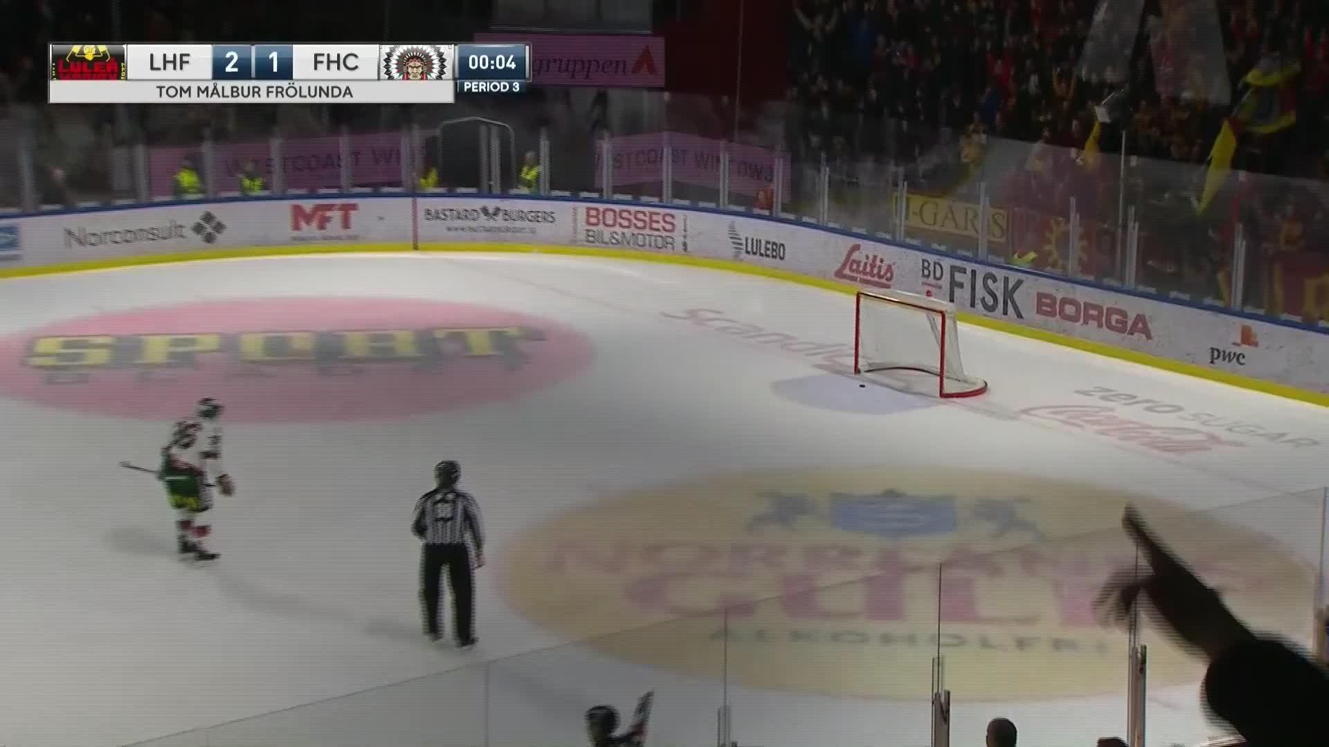 Luleå Hockey - Frölunda HC 3-1