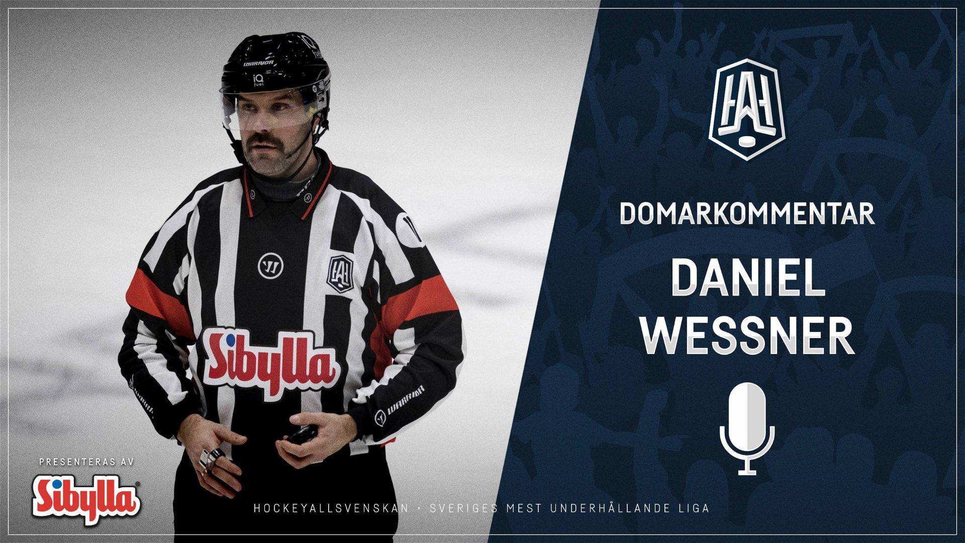 Domarkommentar: Daniel Wessner