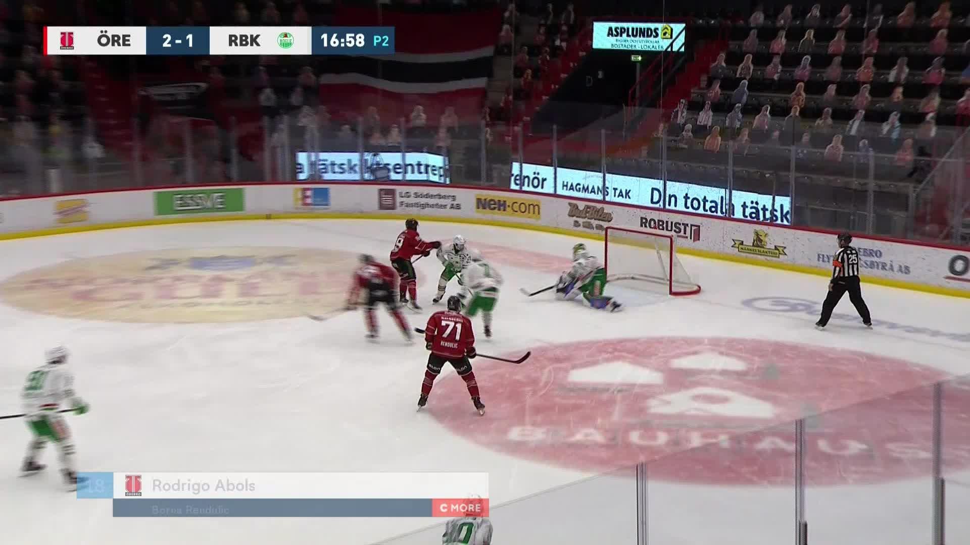 Örebro Hockey - Rögle BK 3-1