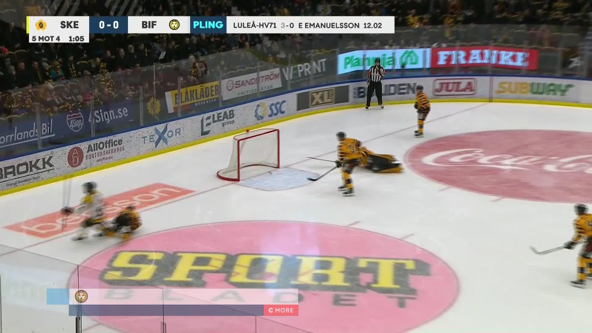 Skellefteå AIK - Brynäs IF 0-1