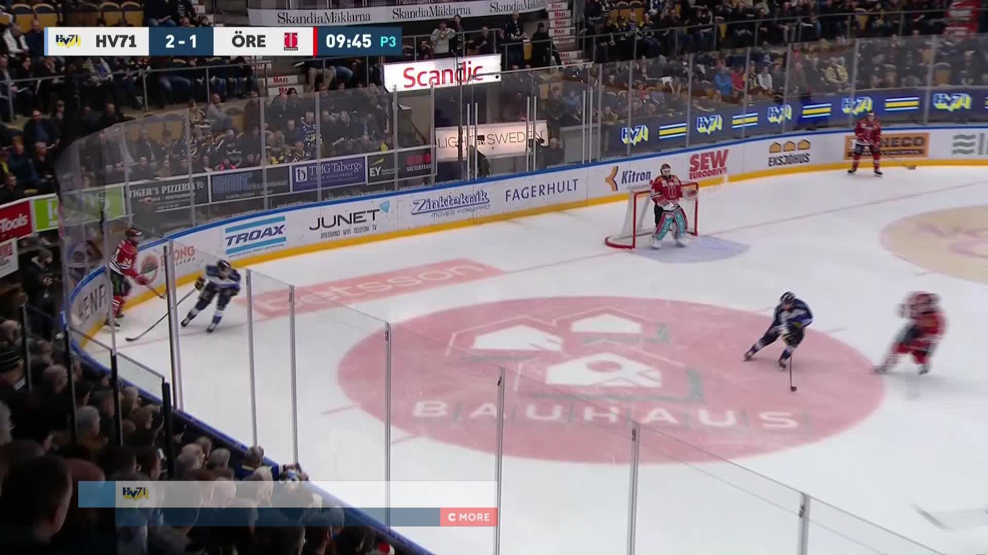 HV71 - Örebro Hockey 3-1