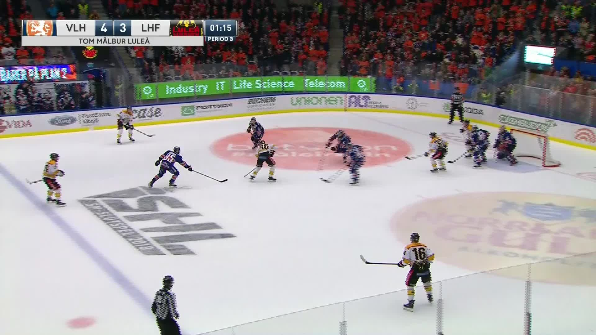 Växjö Lakers - Luleå Hockey 4-4