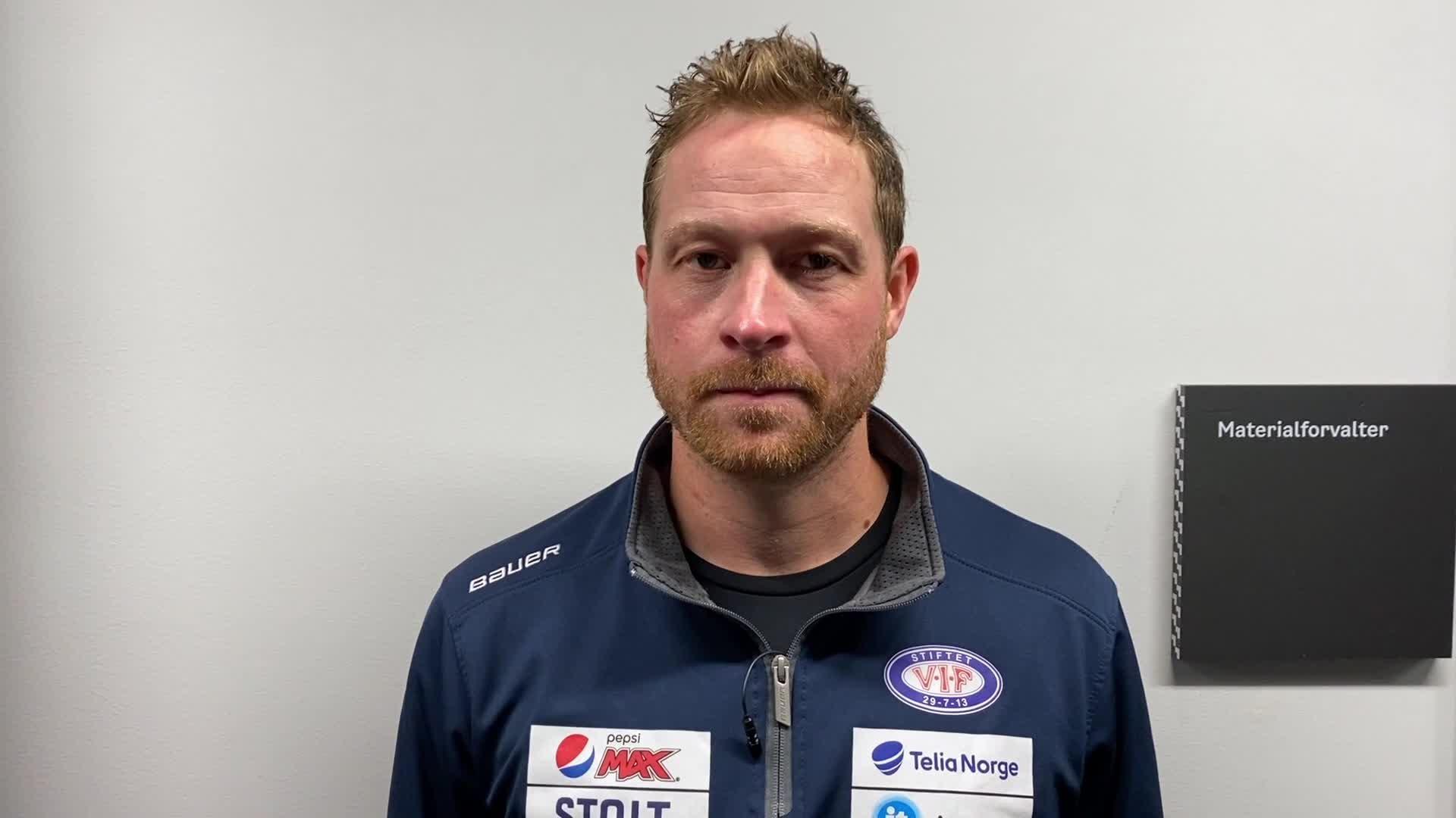 Martin Røymark etter første entré på nye Jordal