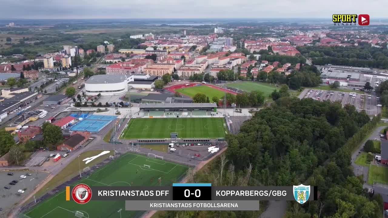 Highlights: Kristianstad – Kopparbergs/Gbg 29 aug