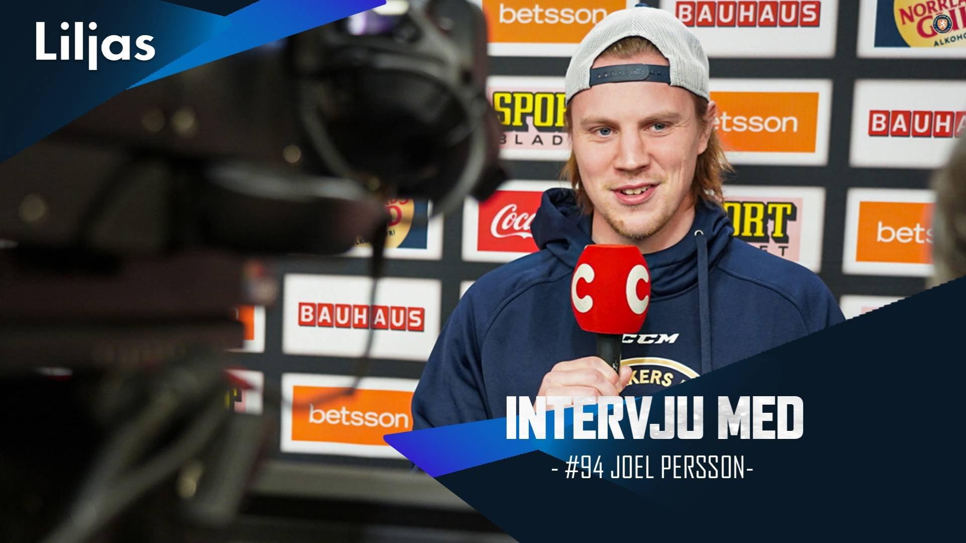 Intervju med Joel Persson