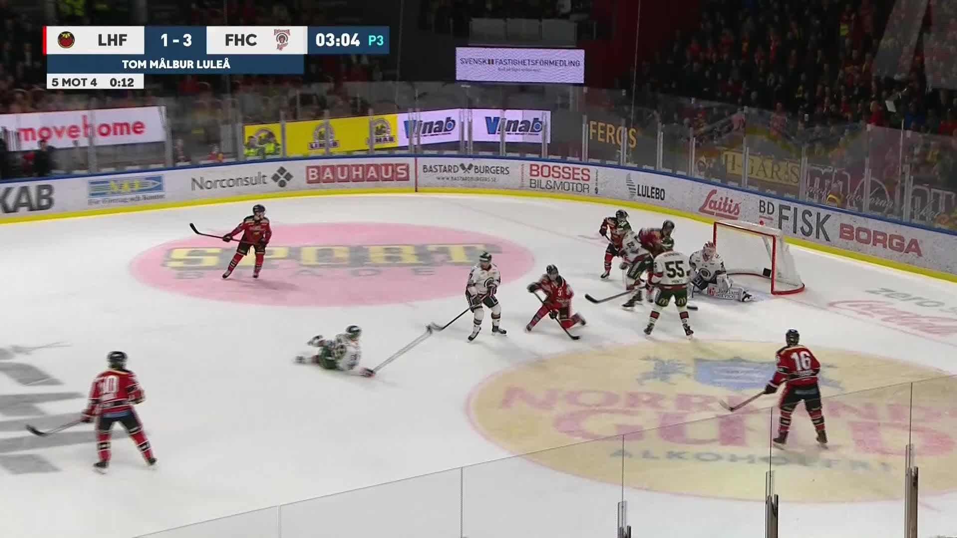 Luleå Hockey - Frölunda HC 2-3