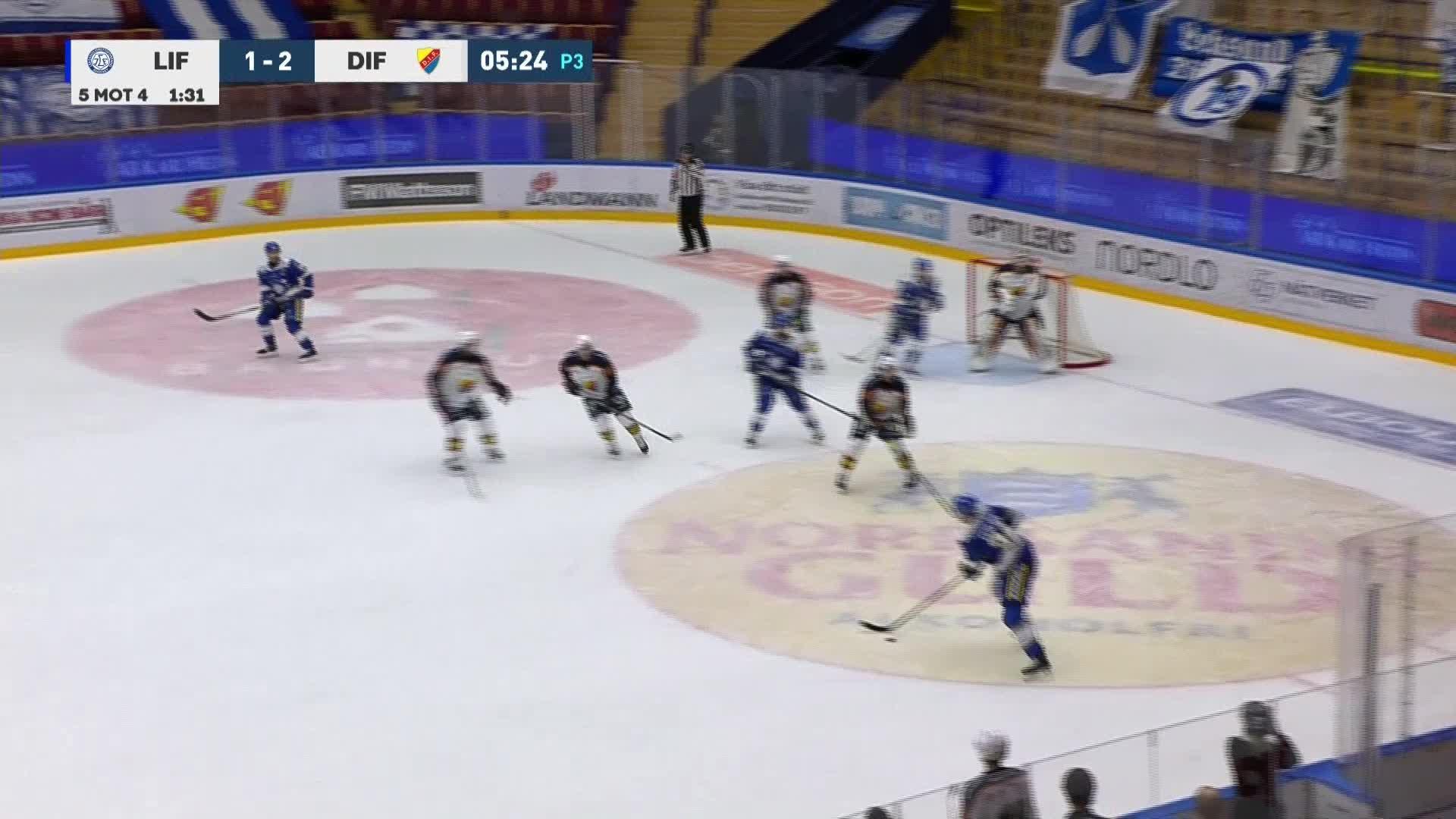 Leksands IF - Djurgården Hockey 2-2